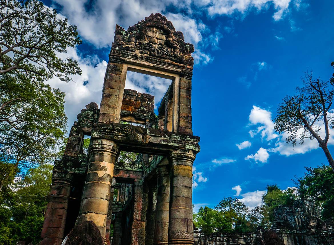 Preah Khan Angkor Complex Siem Reap
