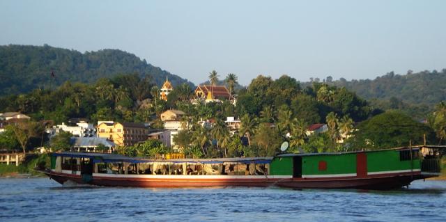 Mekong River outside of Luang Prabang