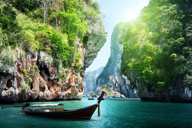 Phang Nga Bay Marine Preserve Andaman sea