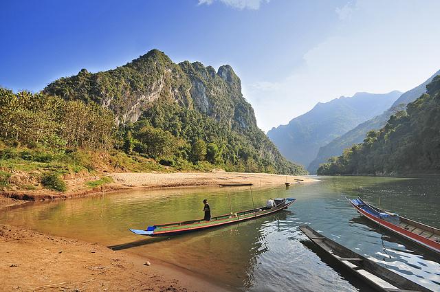 Nam Ou River, Laos